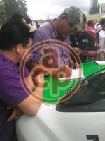 Al menos 100 taxistas de Xalapa, Emiliano Zapata y San Andrés Tlalnelhuayocan, están operando a favor de la candidata a la alcaldía de Xalapa, de la coalición PAN-PRD, Ana Miriam Ferráez, para la compra del voto....