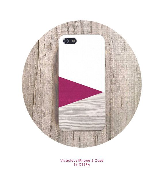 PINK iPhone 5 Case Wood Print Geometric iPhone 4 by casesbycsera, $19.99