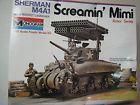 ☺❣ Monogram 1/32 Screamin' Mimi #Sherman M4A1 Tank #Launcher Kit #4200 http://ebay.to/2j9xNWp