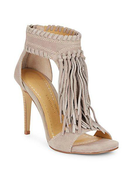 Chinese Laundry | Santa Fe Suede Fringe Sandals | SAKS OFF 5TH