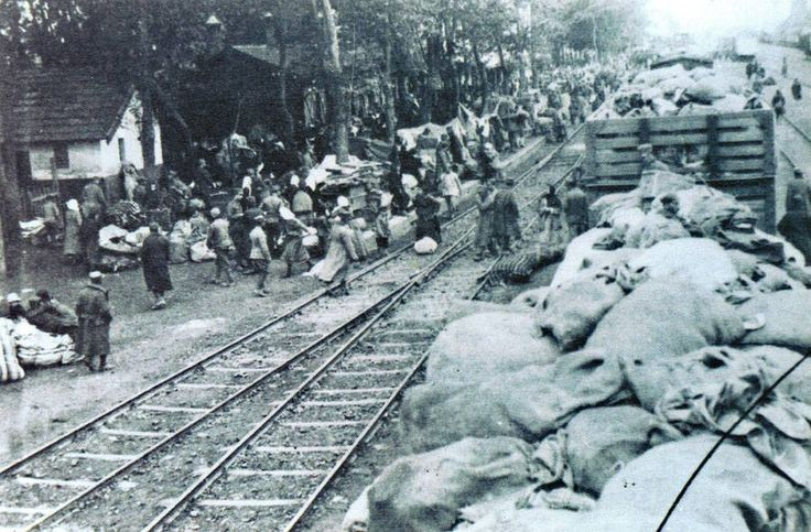 Fleeing Saranta Ekklisies