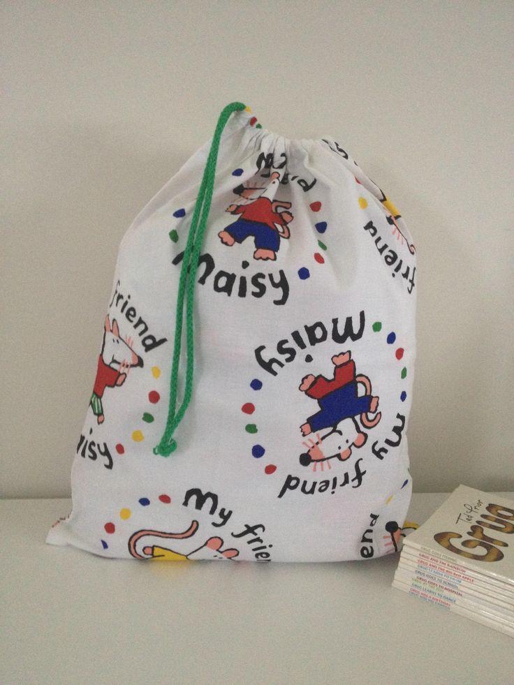 Maisy muis print bibliotheek tas Cute tote tas kids