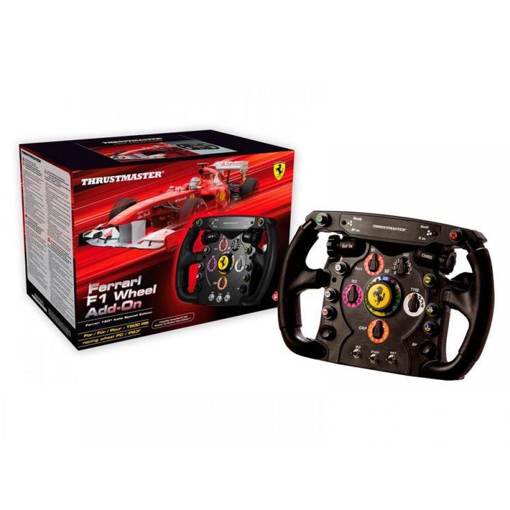 Per i possessori del T500 RS, sostituto del volante originale. Replica del volante reale Ferrari di Formula 1.