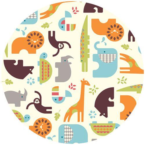 117 best fabrics i adore images on pinterest fabrics for Safari fabric for nursery