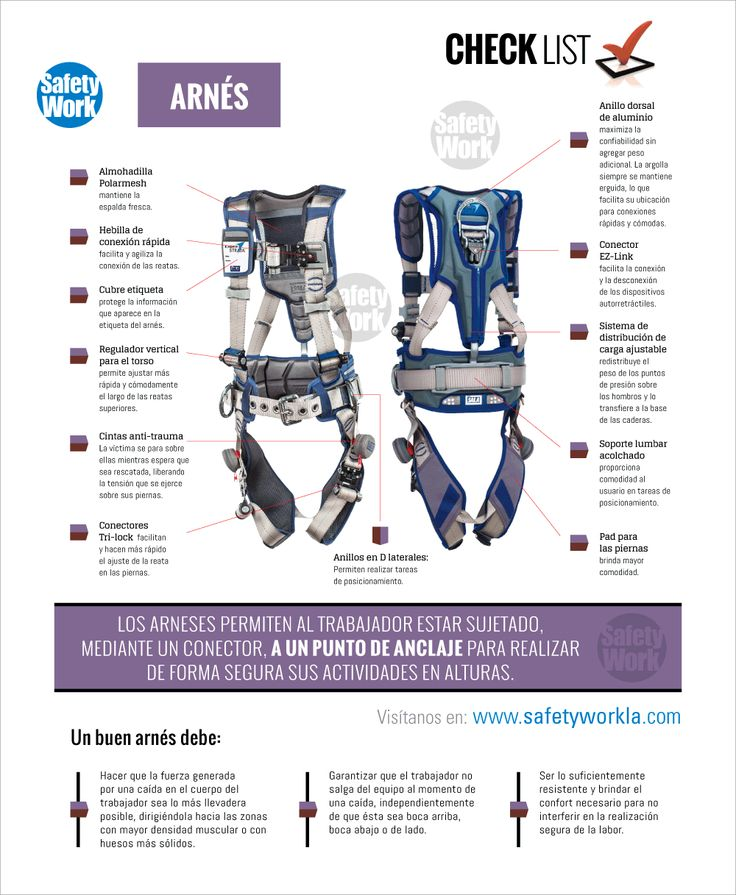 Arnés - Trabajo en Alturas | Safety work