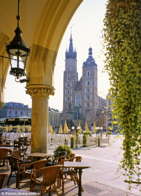 Krakow, Poland...a place with great meaning to my family I hope to one day visit