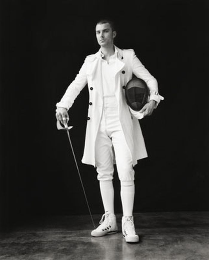 art-of-swords: Fencing Fashion Teun Koemans by Thomas Vørding for Fashionisto Exclusive From Richard Phibbs' portofolio For whoever fancies a little fashion and some swords.  Source: Model Mayhem
