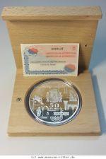 RITTER Spanien, 50 Euro 2003, 1. Geburtstag der Einführung des Euro, PP #coins