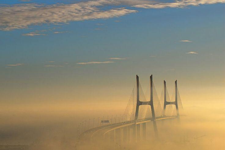 The longest bridge in Europe (17.2km or 10.7 miles) is The Vasco-da-Gama-Bridge, Lisbon, Portugal