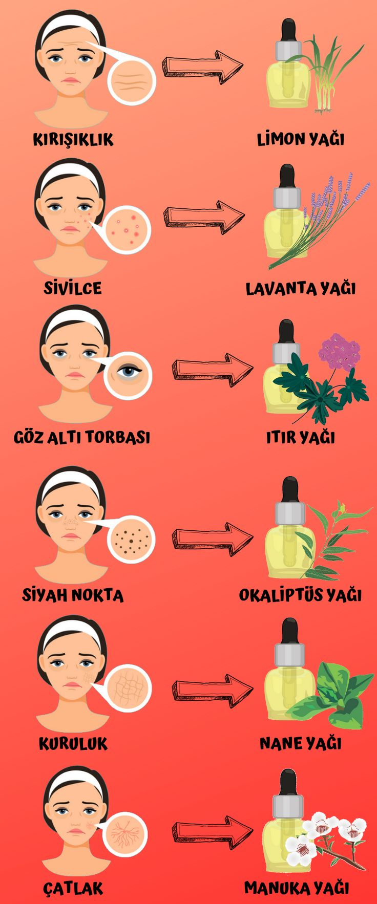 Welches natürliche Öl Sie mit welchem Hautproblem behandeln können, haben wir für Aroma-Enthusiasten aufgelistet ... # Welches natürliche Öl welches ...