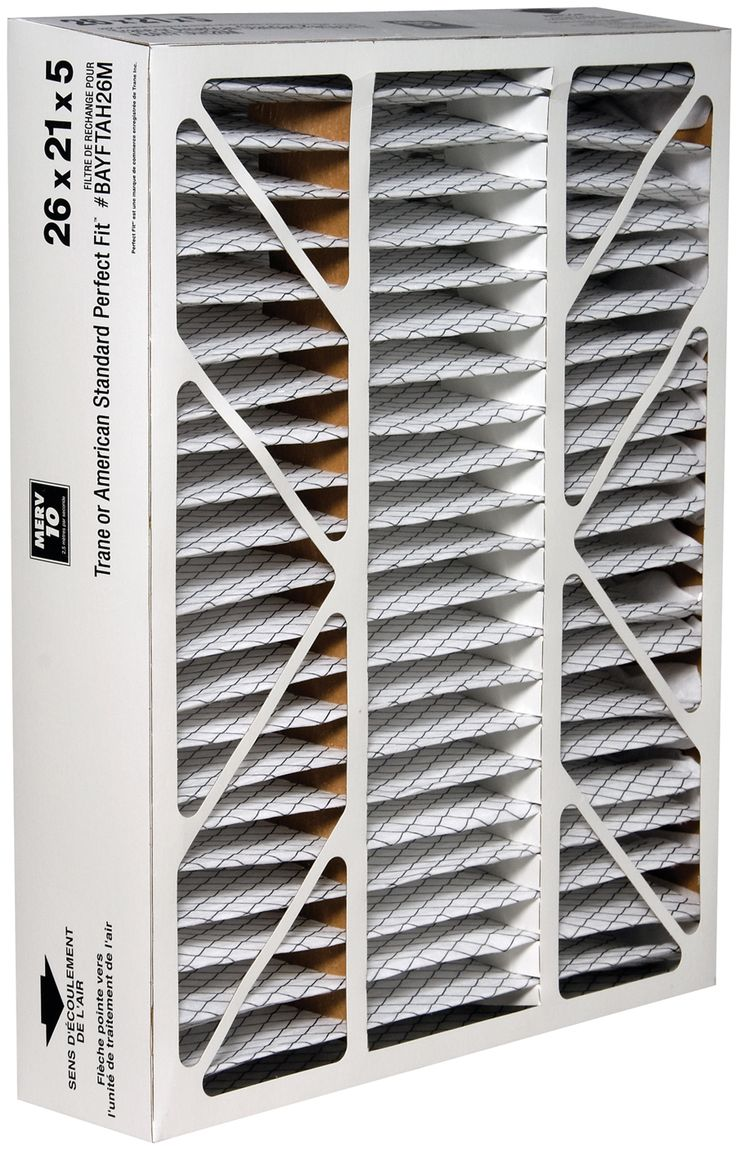 Why wait for the HVAC rep to replace your filter? Do it yourself with our Honeywell Air Filter High-Efficiency TRN2621R1/E, 21x26x5 - MERV 10. It's designed to fit Trane or American Standard Perfect Fit. This filter can capture a high percentage of airborne particles, including microscopic particles. It carries a MERV 10 rating — up to 20 times more efficient a typical five-inch pleated filter