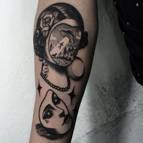surrealism tattoo - Google zoeken