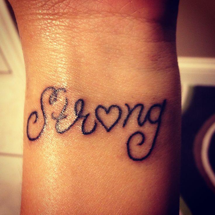 Best 25+ Strong Tattoos Ideas On Pinterest