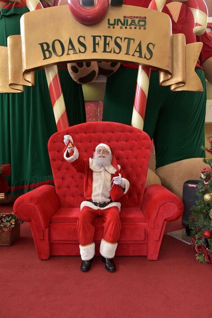 Papai Noel espera por todos no Shopping União de Osasco | Jornalwebdigital