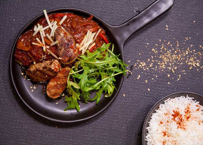 Try this lip-smacking Hungarian Pork Steaks recipe by Jamie Oliver!