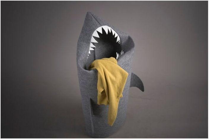 Cool shark hamper!