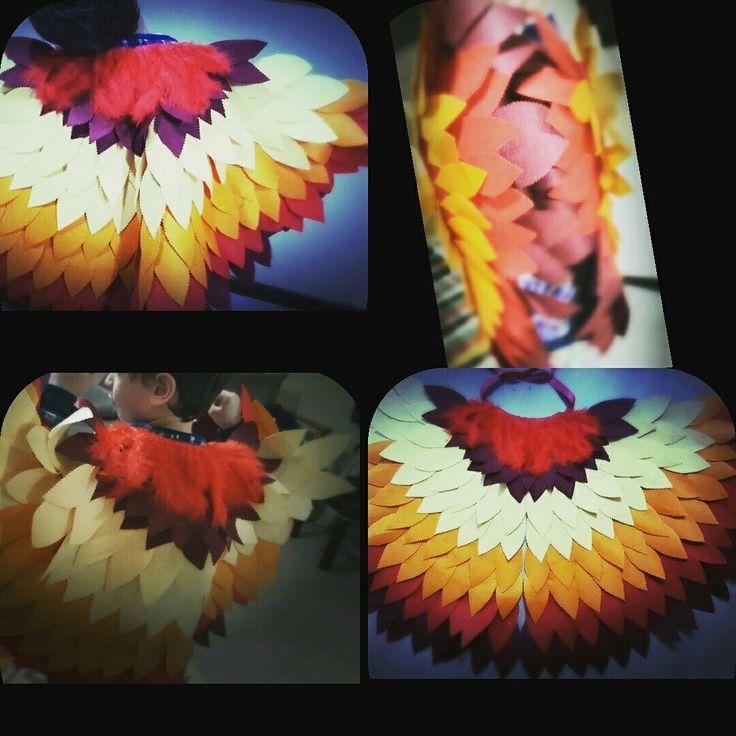 Keçe kuş kostümü