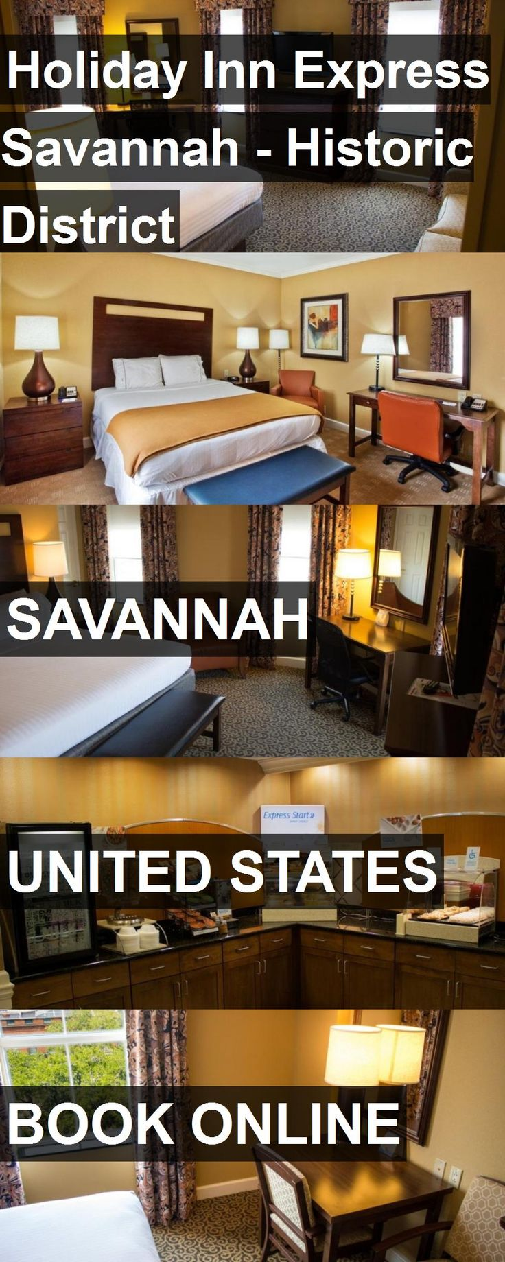 Hotel Holiday Inn Express Savannah - Historic District in Savannah, United States. For more information, photos, reviews and best prices please follow the link. #UnitedStates #Savannah #HolidayInnExpressSavannah-HistoricDistrict #hotel #travel #vacation