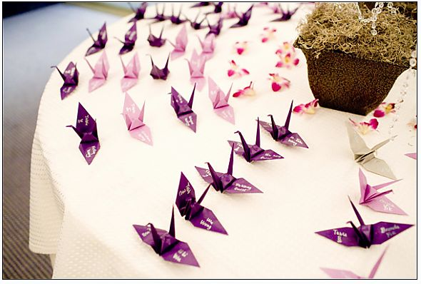 Gallery of the Day :  wedding features 11385purple Diy Oragami Escortcard Screen Sresize.png