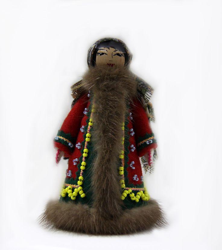 Кукла сувенирная токарная «Аги»