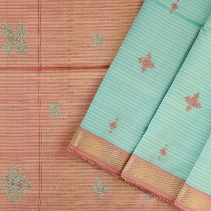 Aasha Savla Handcrafted Kanjivaram Silk Sari A-3065