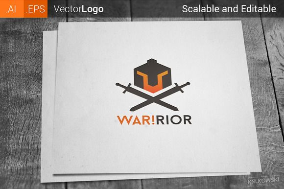 Warrior Logo by Krukowski on Creative Market
