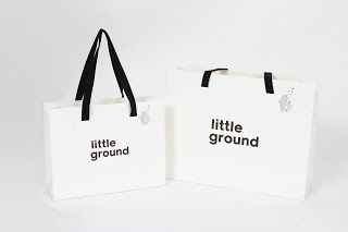 BRAND PAPER BAG: paper bag #shoppingbag #littleground #kids #cloth #giftbag