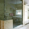 Shower and Steam Room -- tub in shower (see image 8)