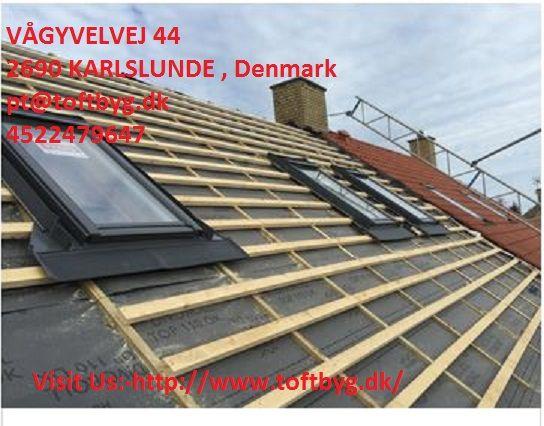 Tagarbejde Roskilde Uanset hvilket byggeprojekt, du drømmer om, stiller vi gerne vores ekspertise og erfaring til rådighed, så du er sikret kvalificeret hjælp og rådgivning lige fra første skitse og ansøgningen af byggetilladelsen til projektet står færdigt.