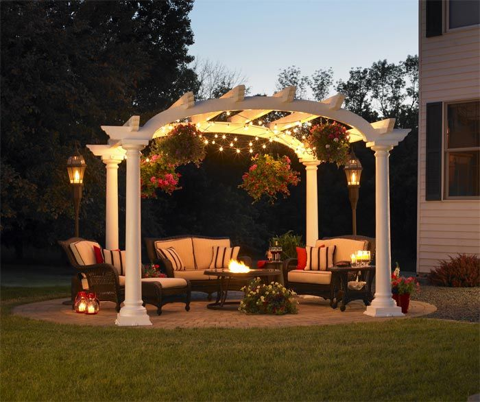 Cape Cod Arched Pergola 10 X 10 Beautiful Cape Cod