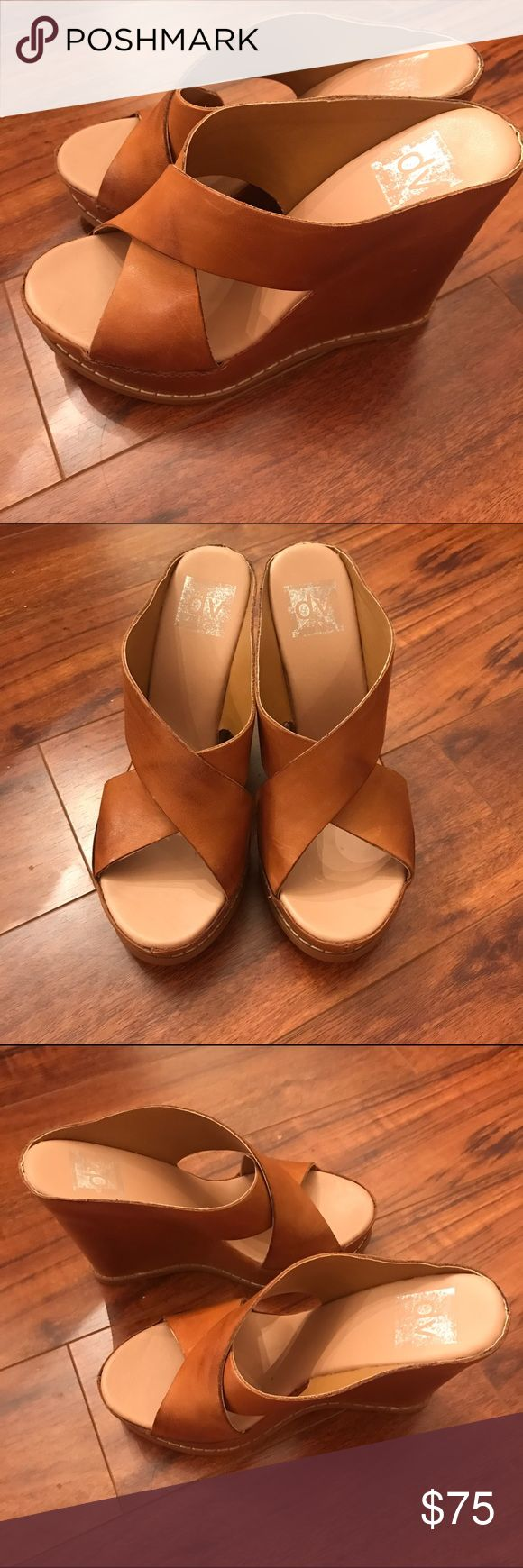 Dolce Vita Leather Wedge Sandals Dolce Vita Wedge Sandals. Original box included.  In great condition. Dolce Vita Shoes Wedges