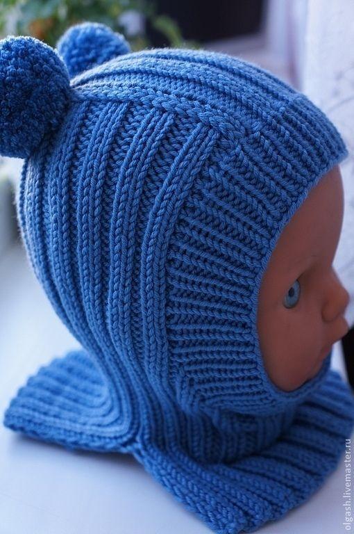 Купить или заказать Шапочка-шлем для мальчика в интернет-магазине на Ярмарке Мастеров. Удобные шапочки-шлемики для малышей , связаны на спицах , из итальянской 100 % мериносовой пряжи , без швов , что очень важно для детей, теплая и мягкая, Цвета в ассортименте . ОГ 38-40см - 2200руб; ОГ 40-42 см - 2300 руб; ОГ 42-44см - 2400 руб; ОГ 44-48см - 2600 руб; ОГ 50-54 см - 2800…