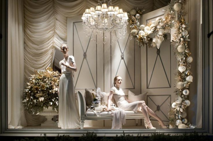 Black tie sophistication from the windows at our Beverly Hills store.