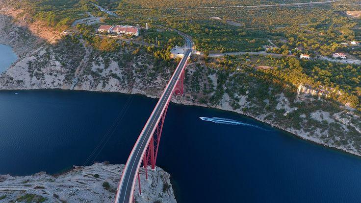 Maslenica Brücke Kroatien