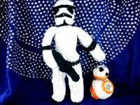 Trefft BB8 – kostenlose Häkelanleitung für alle Fans von Star Wars! – #alle #B…