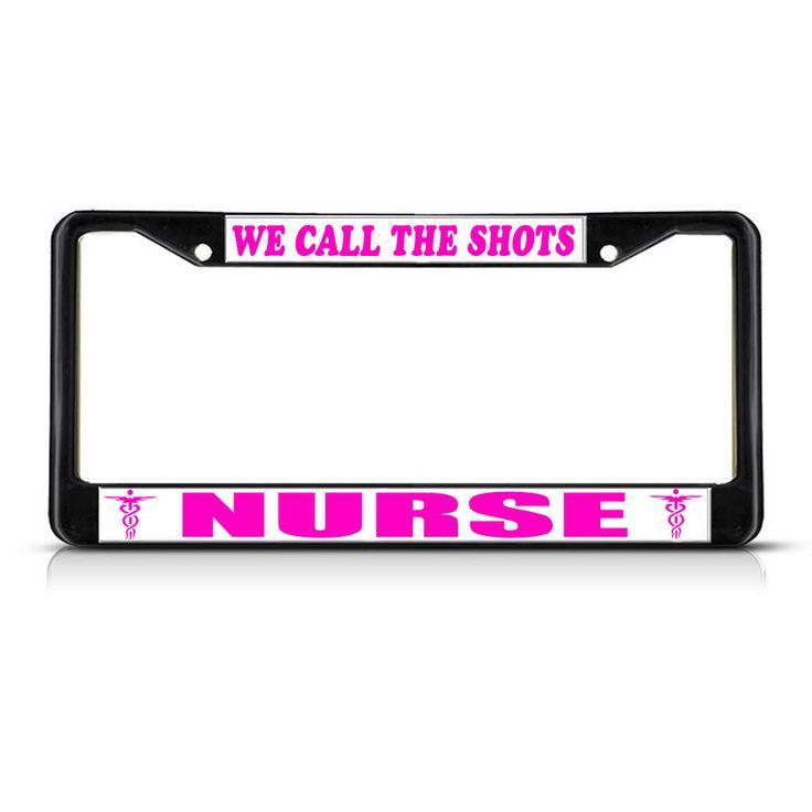24 best Nurse, Firefighter, EMT License Plate Frames images on ...
