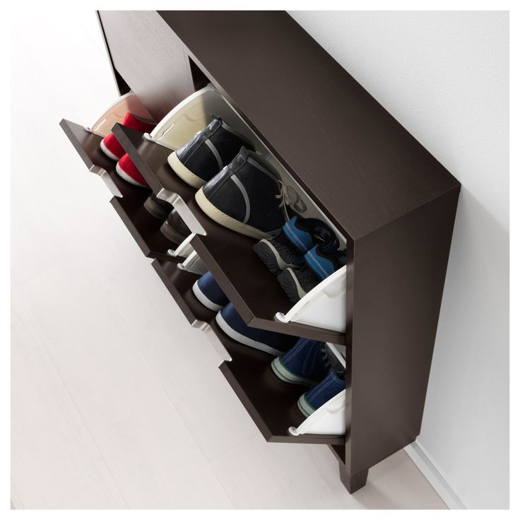 prepac ashley shoe storage bench white. STÄLL Shoe Cabinet With 4 Compartments, Black-brown Prepac Ashley Storage Bench White