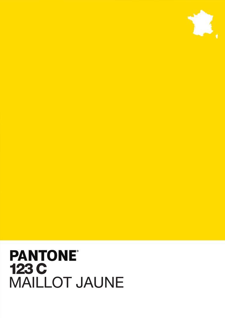 Pantone 123c I Maillot Jaune 163 30 In 2019 Movie Posters