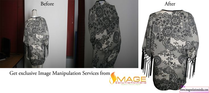 Image solutions India, the world's leading image editing service provider specializes in image manipulation service, neck-joint service, photo manipulation service, ghost mannequin service for your imaging needs.  Our experts are talented in image editing services like image enhancement, image manipulation, image clipping path, real estate image editing, image restoration, 360 degree panorama stitching, HDR Enhancement and Image blending services for your imaging needs
