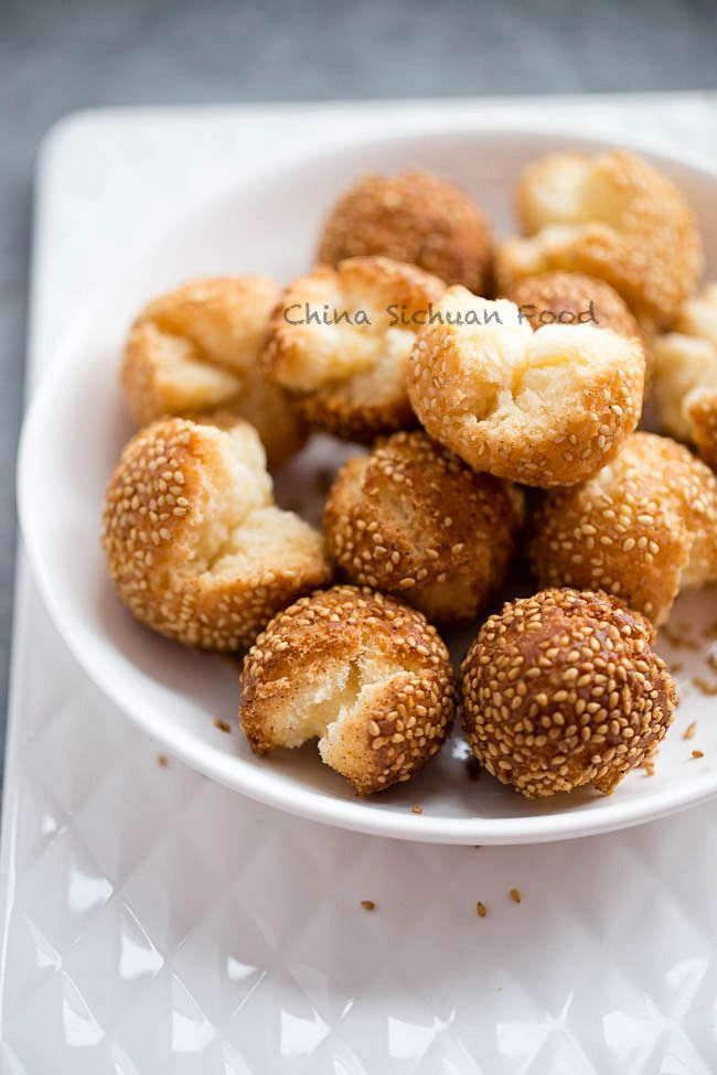 Chinese Laughing Balls (Fried Sesame Balls) – China Sichuan Food