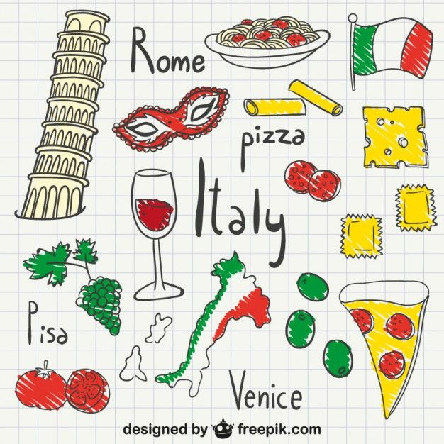 italy-drawings-pack_23-2147500084.jpg (626×626)