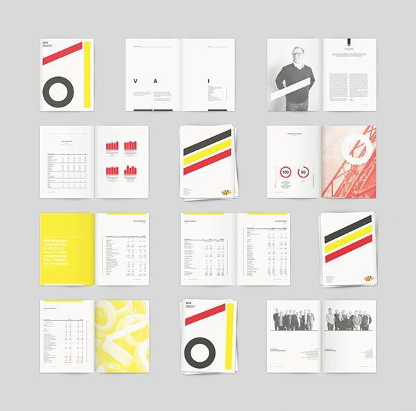 Sundfrakt – 2013 Annual Report on Editorial Design Served
