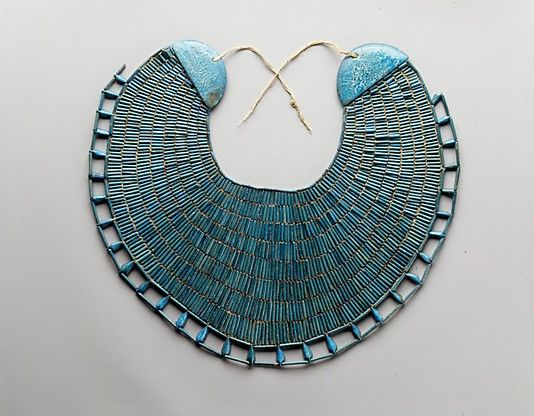 Funerary Broad-Collar of Wah Period: Middle Kingdom Dynasty: Dynasty 12 Reign: reign of Amenemhat I, early Date: ca. 1981–1975 B.C. Geog...