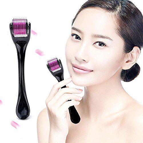 Aodoor 0.5mm 540 Needles Mikronadel Titannadel Roller, Beauty-Produkten, t�gliche Hautpflege, Verbesserung des Hautzustandes, Beseitigung von abgestorbenem Gewebe, Hautaufhellung, Hautstraffung
