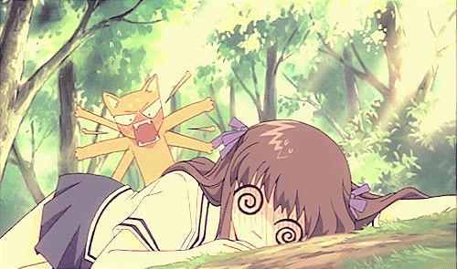 I just thought it was sooo cute how Kyo was reacting to Tohru being sick!
