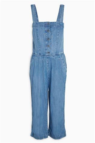 Blue Tencel® Jumpsuit