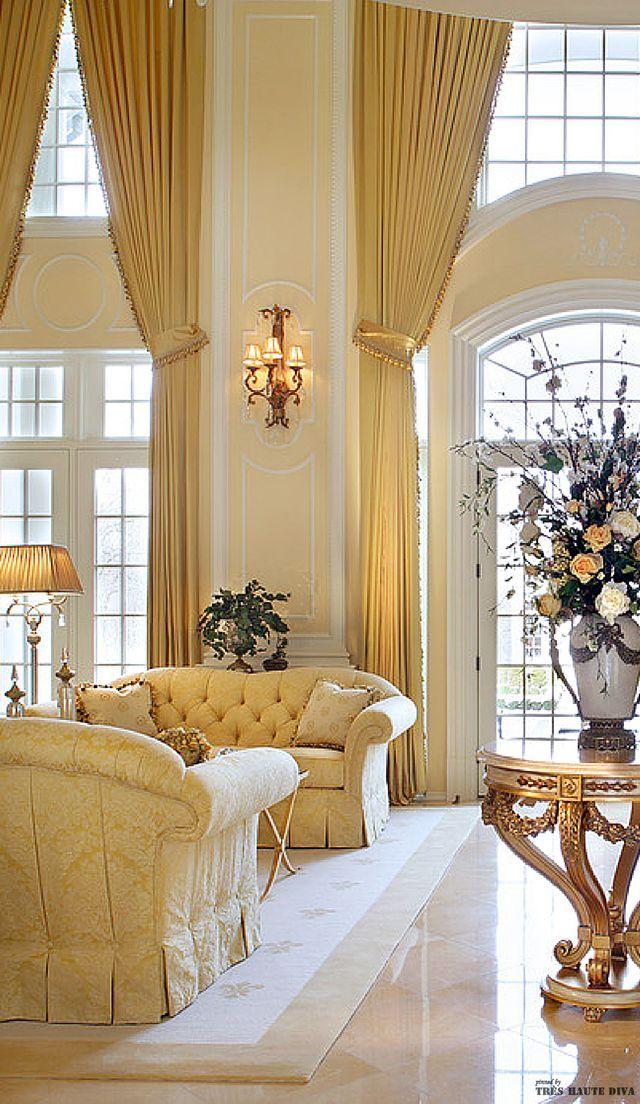 Mein Traumhaus, Zauberhaft, Inneneinrichtung, Wohnzimmer, Architektur,  Wohnen, Luxus Interieur, Innenarchitektur, Französisch Klassisch