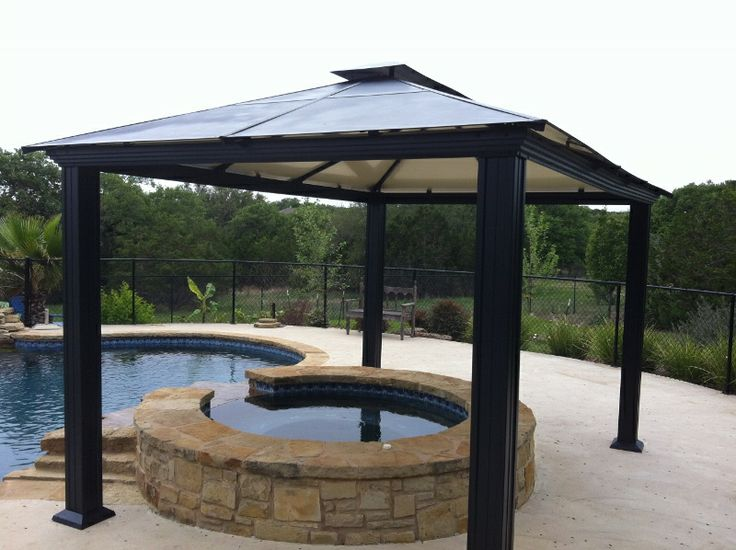 25 best ideas about aluminum gazebo on pinterest aluminum pergola large g - Pergola aluminium 4x3 ...