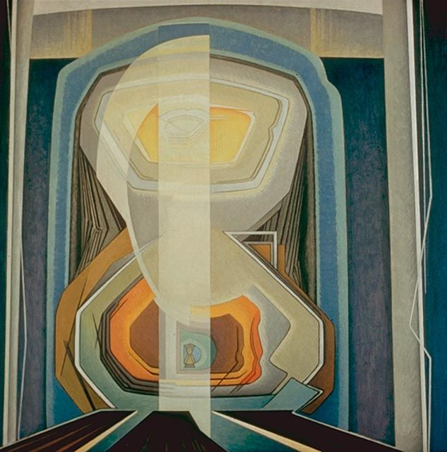 Abstract - no20 - Lawren Harris