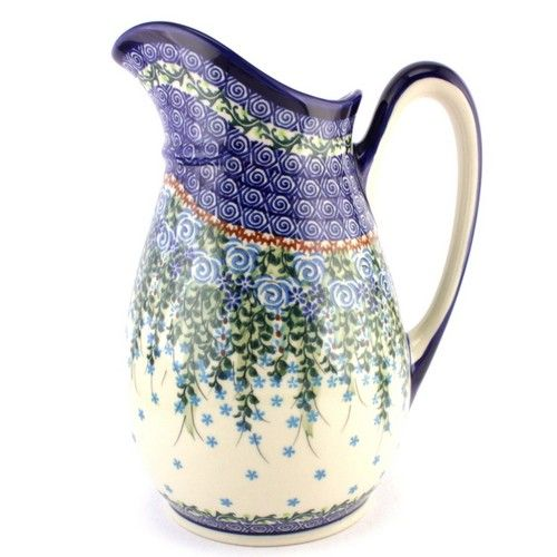 $66.49 Pitcher 52 oz (1.5 L) #416 | Slavica Polish Pottery